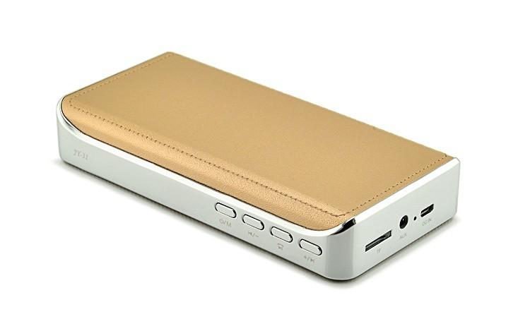 Loa Bluetooth đa năng JY-31 vàng đồng 14