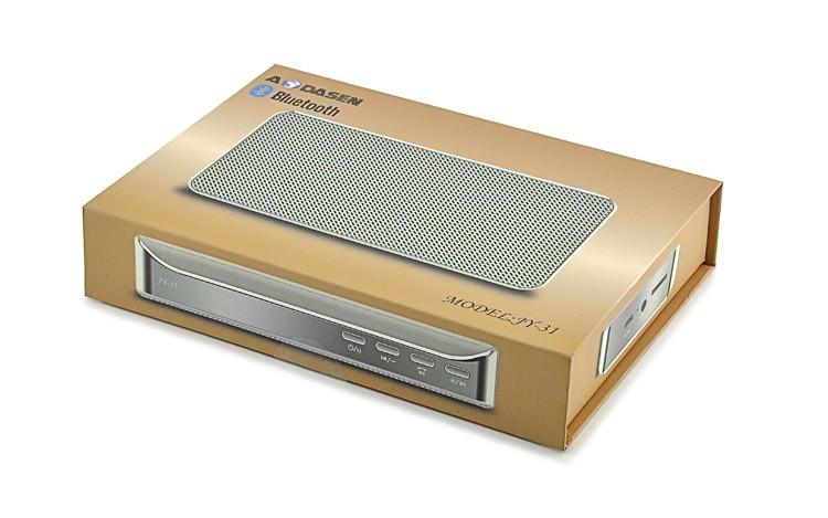 Loa Bluetooth đa năng JY-31 vàng đồng 4