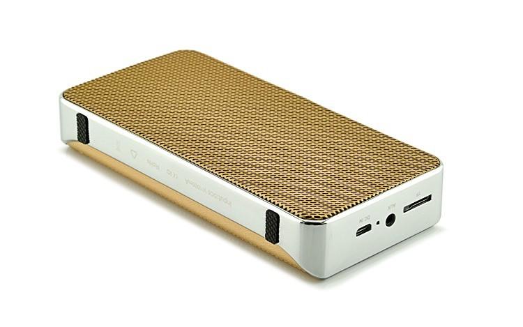 Loa Bluetooth đa năng JY-31 vàng đồng 13