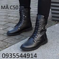 giày bốt nam cao cấp hàn quốc C50