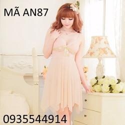 Váy ngủ cao cấp Hàn Quốc AN87