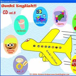 DVD Genki English giúp bé học tiếng anh qua trò chơi