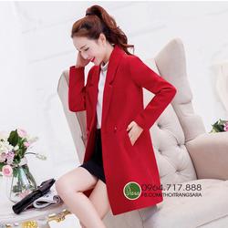 Áo khoác dạ kiểu dáng Hàn Quốc, form suông trẻ trung và cá tính