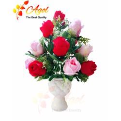 Chậu hoa hồng