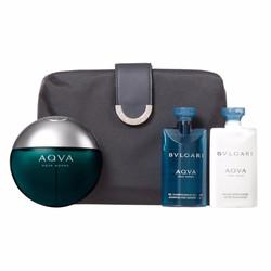 Giftset nước hoa nam xách tay BVL AQVA 4pc