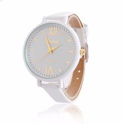 Đồng hồ dây da nữ sang trọng Geneva DH15 - mảnh dẻ quý phái