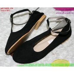 Giảm giá  giày sandal nữ quai hậu sành điệu SD22