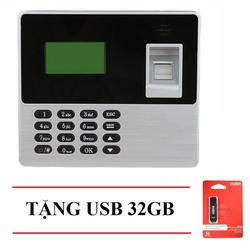Máy chấm công quét vân tay ELITEK 6688 + USB 32GB