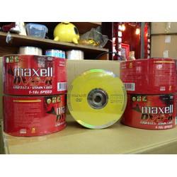 Đĩa trắng DVD Maxell Lốc 50 đĩa