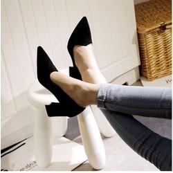GV7 - Giày gót vuông