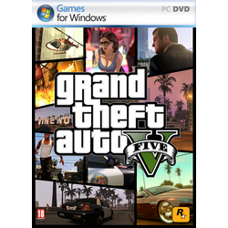 Đĩa game PC Grand Theft Auto V GTA 5 15dvd