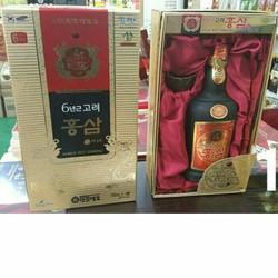 Nước cốt hồng sâm Hàn Quốc 6 năm tuổi 750ml