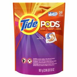 Viên giặt Tide Pods Spring Meadow 38 viên 951g - hàng nhập khẩu USA