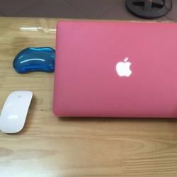 Case bảo vệ cho Macbook nhiều màu 11.6 hồng
