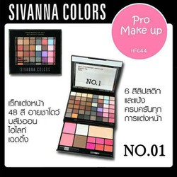 Set phấn mắt - má hồng - son Sivana Colors