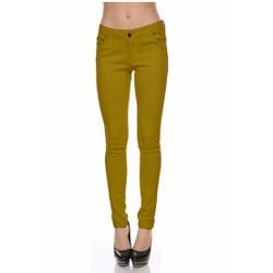 Quần Legging Nữ Kaki Chun Co Giãn Bó Ống Skinny Jeans 002 Y