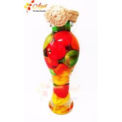 Bình trang trí trái cây trung