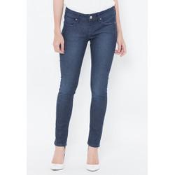 Quần jeans ống ôm xanh đen