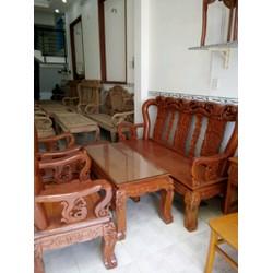 Bàn ghế phòng khách gỗ  lim rừng Gia Lai
