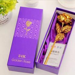 Quà tặng đặc biệt 20 tháng 10 - Hoa Hồng 3D Mạ Vàng Cực Kì Sang Trọng
