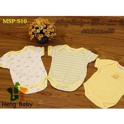 Bộ 3 áo boby cho bé sơ sinh Thái Lan