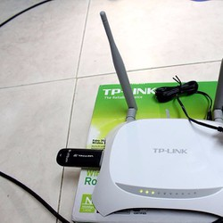 Router Wifi 3G Tplink MR3420 - Bộ phát sóng Wifi từ USB 3G