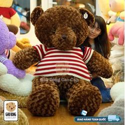 Gấu Teddy cờ mỹ 2 size 029 cao 1m7
