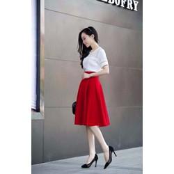 Chân váy xếp ly thời trang CD1251