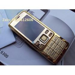 Điện thoại 6300 Gold zin - full Box hộp