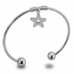 Vòng tay inox ngôi sao phong cách Hàn Quốc - LT105