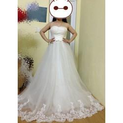 Váy cưới cúp ngực siêu đẹp