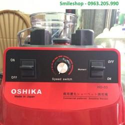 Máy xay sinh tố công nghiệp  Oshika Nhật Bản HD03