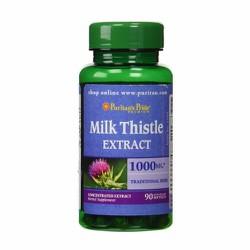 Viên uống hỗ trợ gan của Mỹ Milk Thistle 1000mg Puritan Pride