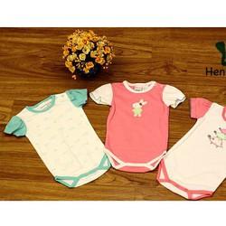 Bộ 3 áo body cho bé sơ sinh Thái Lan