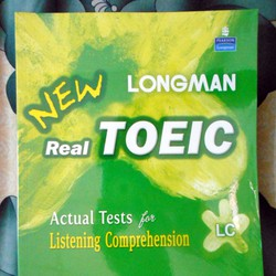 Sách luyện thi TOEIC - Longman New Real Toeic Actual Tests For LC