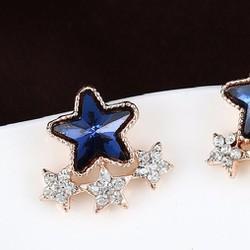 Bông tai ngôi sao đá thời trang cho nữ xinh BTT82