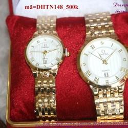 Đồng hồ tình nhân inox Ome phong cách sang trọng DHTN148