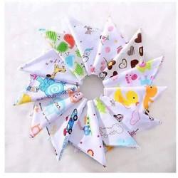 Combo 5 khăn tam giác cho bé