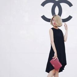 Đầm suông siêu hót, thiết kế mullet sang trọng