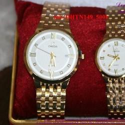 Đồng hồ tình nhân inox Ome chấp cánh iu thương DHTN149