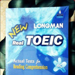 Sách luyện thi TOEIC Longman New Real Toeic Actual Tests For RC