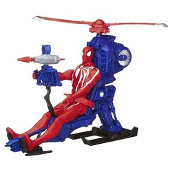 Mô hình Marvel Spiderman Web Warrious with Copter
