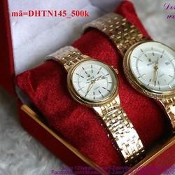 Đồng hồ tình nhân inox Ro chấp cánh yêu thương DHTN145