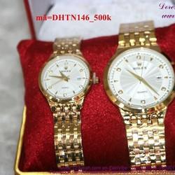 Đồng hồ tình nhân inox Ro phong cách sang trọng DHTN146