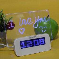 Dồng hồ để bàn báo thức bảng LED ghi nhớ