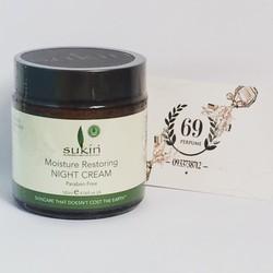 Kem dưỡng da phục hồi ban đêm Sukin Restoring Night Cream 120ml