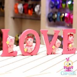 Bộ Heo Sao Chữ Love