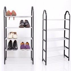 Bộ 2 Kệ để giày dép cao cấp 5 tầng tiện ích