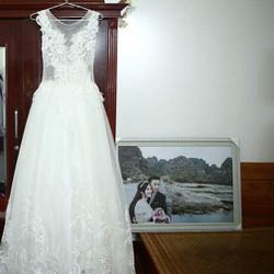 Váy cưới thiết kế thanh lý