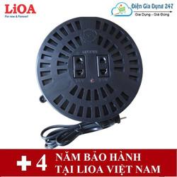 Biến áp đổi nguồn điện sang 100V-110V 1 pha LiOA DN020 2,0kVA
